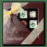 prix souvenir offert par la chocolaterie Raffin à Monthey